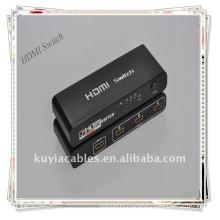 Hot sale 3 Port HDMI Switch Splitter for HDTV HD 1080P