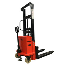 Semi Electric Pallet Stacker 2 Ton (4,400 lbs)