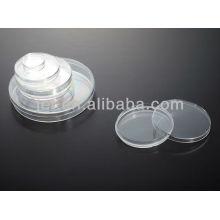 Placa de Petri Plástica descartable para laboratório