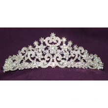 Good Quality Mini Discount Fashion Custom Wedding Tiara Shiny Crystal Bridal Crown