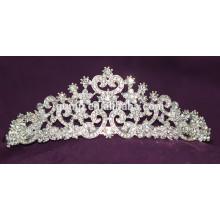 Хорошее качество Мини Скидка моды пользовательских Свадебная тиара блестящей Crystal Bridal короны