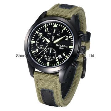 Большой набор кварцевые противоударные часы Многофункциональный спортивный бизнес 2016 Fashion Watch