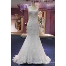 Spaghetti Lace Mermaid Bridal Wedding Dress