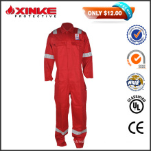 50% Discount sales red CN 8812 Safety Flame Fire Retardant Workwear Coverall