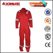 Desconto de vendas de 50% vermelho NC 8812 segurança chama fogo retardante Workwear Coverall