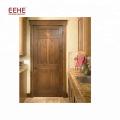 Porte en bois d'intérieur de luxe Foshan / porte principale en bois massif