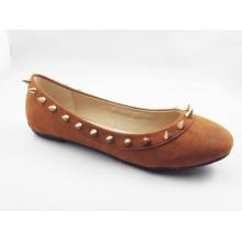 Zapatos planos del vestido de las nuevas mujeres del estilo (HCY03-132)