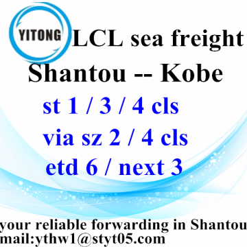 Shantou LCL International Shipping Services a Kobe