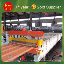 Hydraulic Automatic Metal Sheet Roof Panel Roll Forming Machine