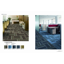 PP Jacquard Office Loop Tiles with Eco-Bitumen Backing