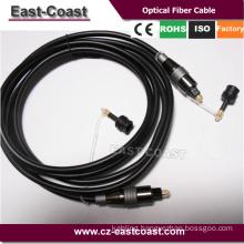 Toslink digital audio optical optic fibre cable cord
