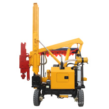Solar Construction Machinery Fence Post Driver Hydraulic Post Pile Driver Manufacturer