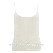 15STC6301 100% cashmere camisoles