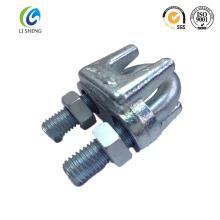 Collier de serre-câble en métal réglable JIS