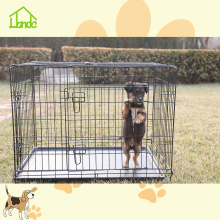 Folding dog cages for sale with high quality