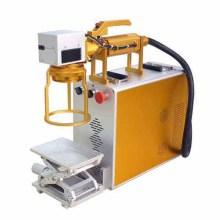 Handheld Kunststoffplatte Laser Barcode Metall Armband Graviermaschine