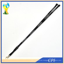 Promotion Cheap Thin Polyester Lanyard with Safety Breakaway