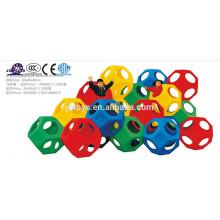 2016 plástico de juguete de escalada juguete agujero de juguete para niño
