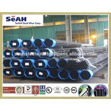 """Tubos de acero al carbono de 1/2 """"a 8-5 / 8"""" a AS, BS, JIS, API, ASTM o tubería negra, tubo ERW, tubería galvanizada"""