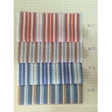 100% coton Y / D Stripe tissu (ART n ° UYDFY4-1-4)