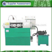High speed thread rolling machine for pipe screw