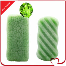 Cellulose Sponge Green Tea 100% Natural Vegetable Plant Konjac Sponge for Body Cleansing Baby′s Favorite