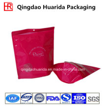 Stand up Printed Plastic Garment Packaging Bag with Zipper