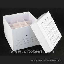 Boîte de rangement papier / tube