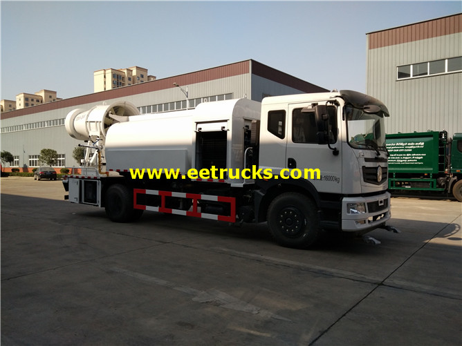 12000L Dust Suppression Fog Cannon Trucks