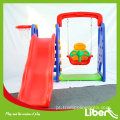 Playset interior playground slides para venda