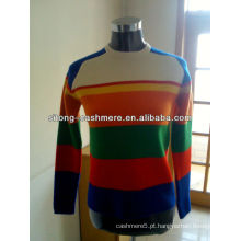 Mulheres Cashmere Pullover