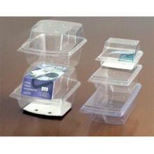 Transparent Plastic Packaging Box for Food Storage