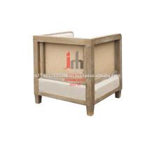 Cubo Sofá con marco de madera