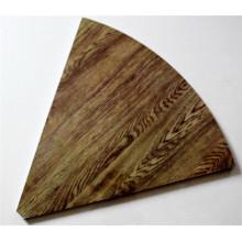 Painel de parede de madeira da melamina da grão (CP-019)