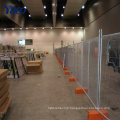 temporary fence panel hot sale cheap fence temporary fence base