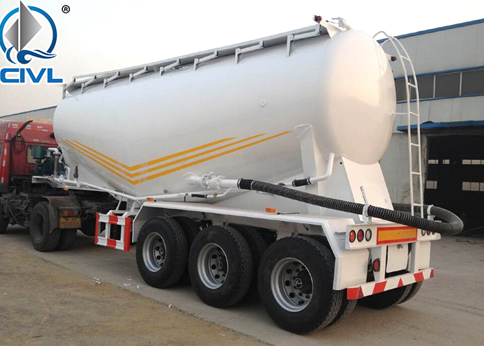 60tons Cement Bulk Semi Trailer