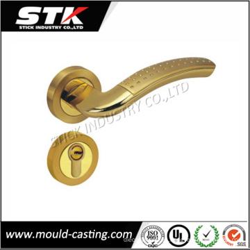 Mango de bloqueo de aleación de zinc de alta calidad mediante fundición a presión (STK-ZDL0026)
