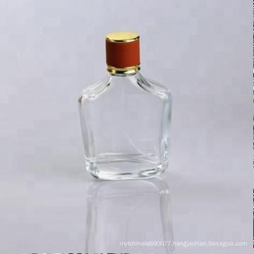 100ml clear glass fancy perfume bottle