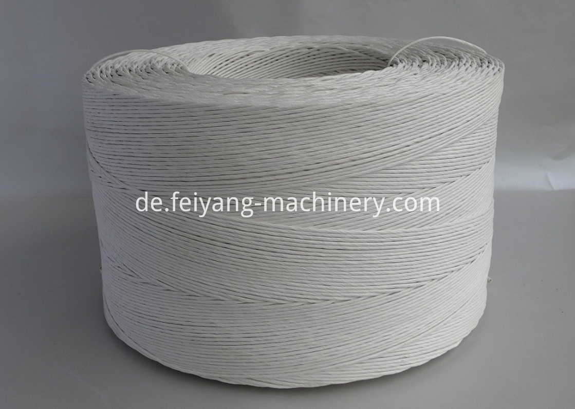 White Color Twisted Paper Cord