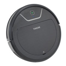 Robot Vacuum Cleaner with Max Power Suction Cleaning Carpet Electric Water Tank Mopping Hard Floor