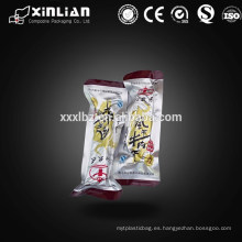 Bolsa de retorta de aluminio laminado de alta temperatura para alimentos