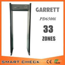 High Quality Portable Archway Metal Detector 33 Zones Walk Through Metal Detector