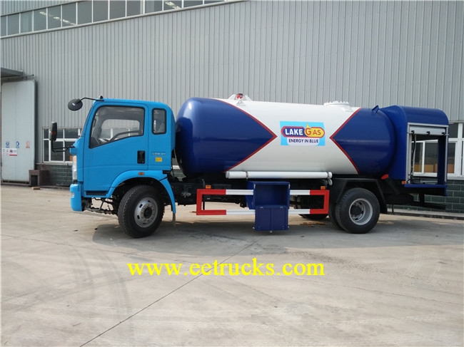 SINOTRUK LPG Filling Trucks