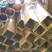 Tubo de latão quadrado retangular / quadrado 40 x 40mm C2720 H62 CuZn40