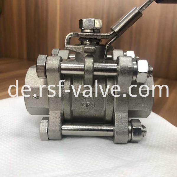 1000psi Wog Floating Ball Valve 2