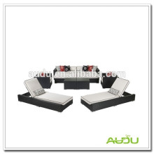 Audu Aluminium Outdoor Rattan Personalized Beach Chairs