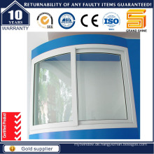 2016 Design Aluminium / Aluminium-Legierung Horizontale Schiebe-Schärpe Glas Fenster