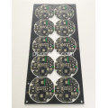 Black matt over green soldermask placa de circuito