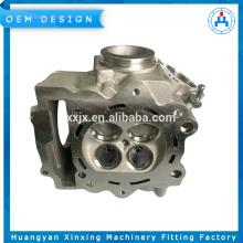 Culata de motocicleta China Piezas de aluminio de fundición por gravedad de alta calidad