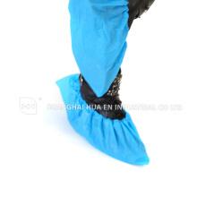 Qualität mit CE FDA ISO zertifiziert Einmal blau CPE Microporous Schuhüberzug